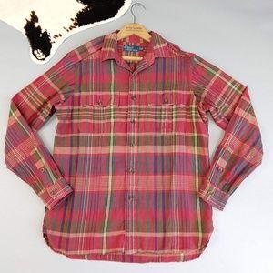 Polo Ralph Lauren Vtg Men's Shirt Button Down